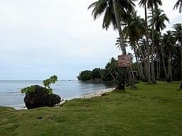 Paisaje de las Islas de Micronesia