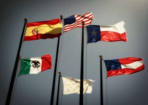 Las 6 banderas de Texas en su historia
