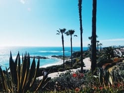 Paisaje de Estado de California, playas