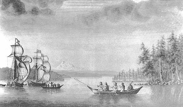 Fragatas españolas en Alaska, Sutil y Mexicana