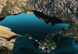 Paisaje de Estado de Georgia, lago