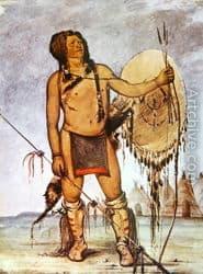 Guerrero comanche armado