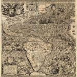 Mapa de América de Gutiérrez de 1562