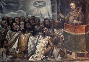 Pintura de la Educacion en Nueva España