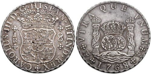 Moneda española de China