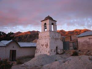 Una iglesia de las misiones