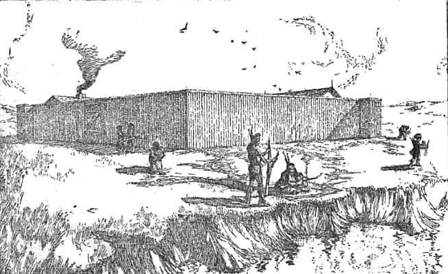 Fuerte de Manuel Lisa en Dakota del Norte