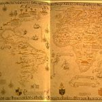 Mapa español del mundo de 1529