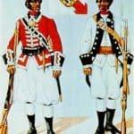 Soldados españoles de color