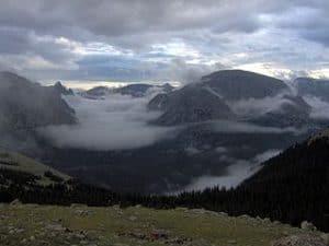 Camino entre las montañas utilizados por los indigenas Ute