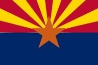 Bandera de ARizona en U.S