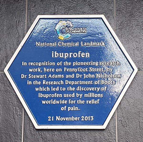 Laboratorio donde Antonio Ribera diseño el Ibuprofeno