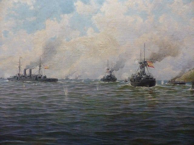 Combate Naval en Santiago de Cuba