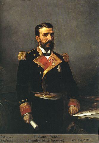 Retrato del Teniente de Navío Isaac Peral
