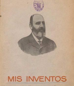 Publicación de Torres Quevedo (MIs inventos)