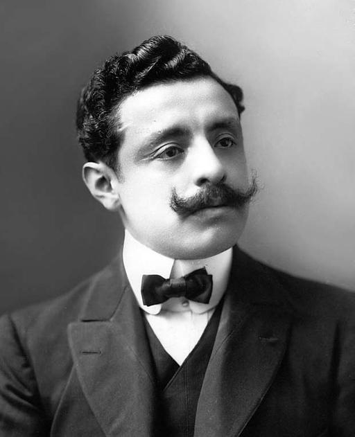 Retrato de Pedro Paulet, inventor del motor-cohete