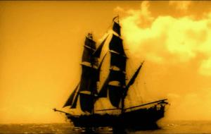 Barco pirata Filibustero