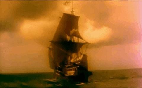 Barco corsario bien armado
