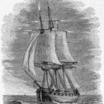 Barco bajo el Fuego de San Telmo
