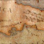 Mapa de parte de la Isla de Jamaica