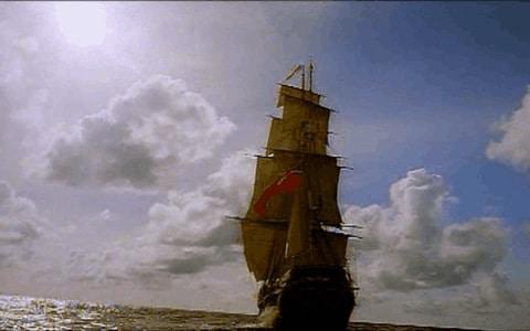 Nave corsaria de grandes dimensiones