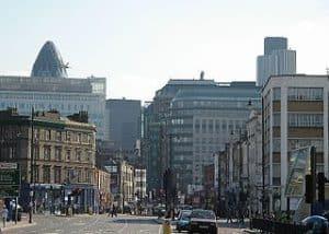 Vista de la City de Londdres