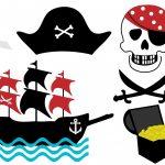 Decoración de cumpleaños pirata