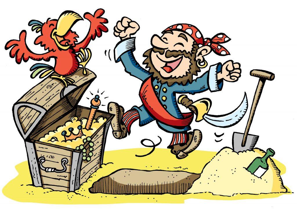 Decoración fiesta pirata
