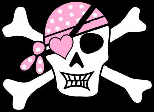 Decoración infantil de pirata