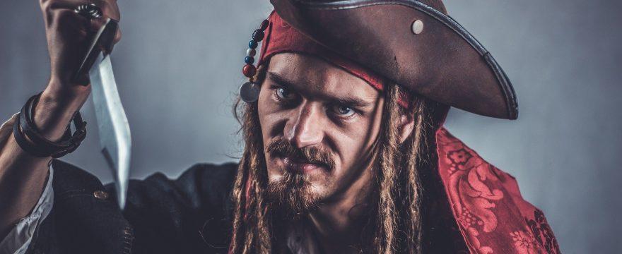 Decoración piratas del Caribe