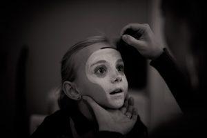 Maquillaje pirata niña