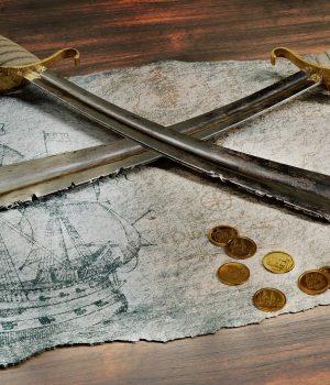 Tienda de Piratas y su ambiente 1