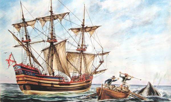 Barco ballenero vasco español del siglo XVII