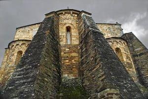 Iglesia de Mondoñedo, ataca por los vikingos
