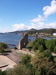 Torres defensivas en la Ría de Catoira contra los vikingos