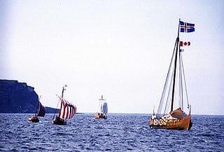 Desembarco vikingo en Galicia en el Norte de España