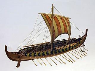 Drakkar, el barco vikingo de los piratas del norte